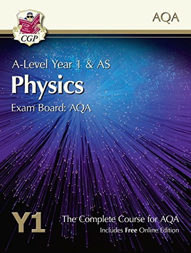 New A-Level Physics for AQA: Year 1 & AS Student Book with Online Edition by CGP Books (2015-05-21)