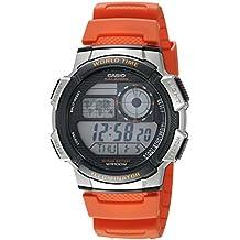 b1ffc5b7bc15 Casio – Reloj casual de resina para hombre con mecanismo de cuarzo