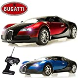 CM-2108 1:10 Bugatti Veyron Radiocomandato RC elettrico Ricaricabile Car - Pronta Per Correre EP RTR - Blu / Rosso - Rosso