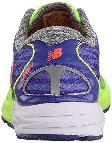 New Balance Women's W1400V4 Running Shoe Yellow/Purple