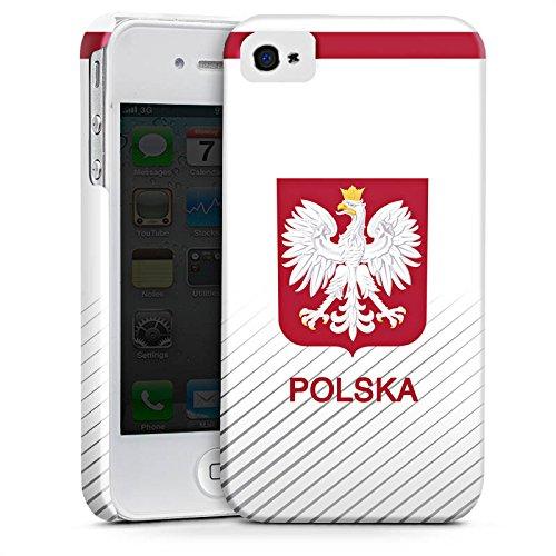 Apple iPhone X Silikon Hülle Case Schutzhülle Polen EM Trikot Fußball Europameisterschaft Premium Case glänzend