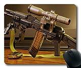 Yanteng Tapis de Souris, 3 Armes, dernière Arme à feu, Tapis de Souris avec Bords...