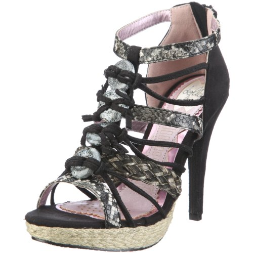 Dolly Do Sandal 52094 Damen Sandalen/Fashion-Sandalen Schwarz/Black Napa Brush