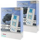 Bosch Typ G Original PowerProtect Microfasertuch Staubsaugerbeutel+Filter (10er Packung)