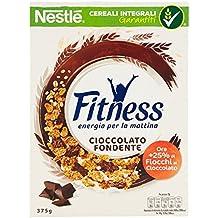 Fitness Dark Chocolate Fiocchi di Cereali Ricoperti di Cioccolato Fondente - 375 gr