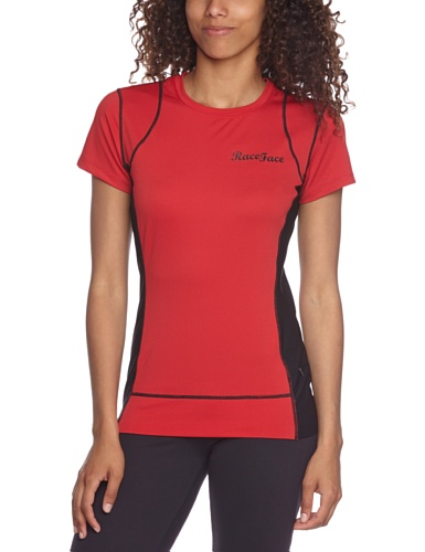 Race Face Piper Jersey T-shirt pour femme Rouge - rouge