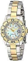 Invicta 6895 - Reloj de cuarzo para mujeres, bicolor de INVICTA