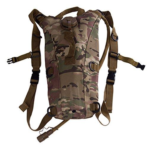 Sport-Wasser-Taschen Flaschenhalter Trinkrucksack Krügen Flaschen Camping Fahrrad Militär Kettle CP