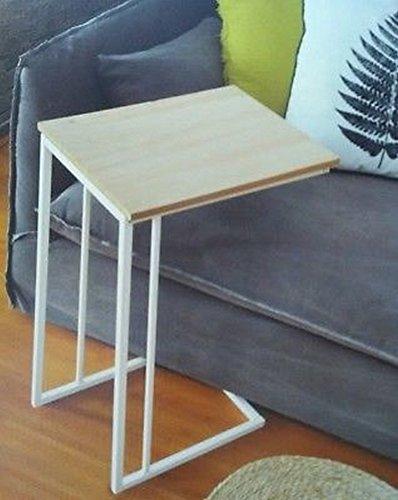 Lifetime Table Plateau Pieds Déporter Lit Canape A Glisser Hôpital Dejeuner Bois Metal