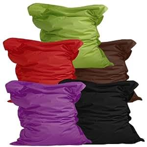 Luxury Riesensitzsack - XXL Sitzsack aus der Comfortline, Original lumaland® in 140 x 180 cm für Indoor & Outdoor BRAUN