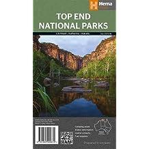 Top End National Parks 1 : 350 000: Litchfield. Katherine. Kakadu