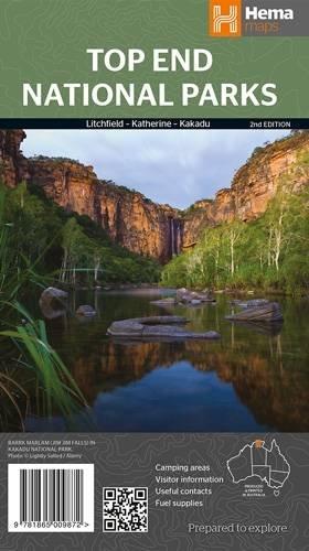 Top End NP r/v hema Litchfield-Katherine-Kakadu di Hema Maps