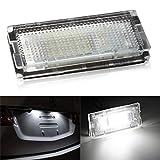 WEFIE LED Kennzeichenbeleuchtung Kennzeichenleuchte für E46 Limousine Touring und Compact Nummernschild Beleuchtung