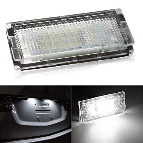 WEFIE illuminazione per la targa con luce a LED, per E46 berlina Touring e Compact
