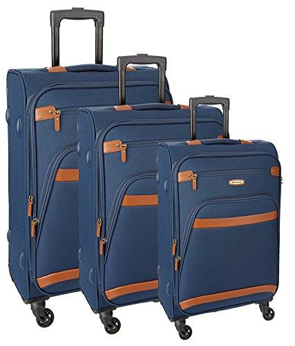 Aristocrat-Morris-Polyester-Dark-Blue-Soft-Suitcase-Set-of-3-Pc