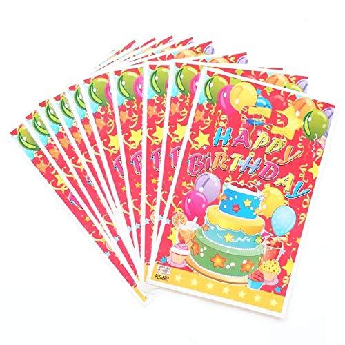 SMHILY 10 Teile/los Prinzessin Crown Thema Party Geschenk Tasche Party Dekoration Kunststoff Süßigkeiten TascheFür Kinder Festival Party Supplies