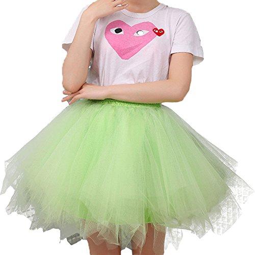 Sunzeus Kurze Röcke für Mädchen Bunte Tutu Rock Unterwäsche Günstige Frauen Oberbekleidung Sommer Strand Rock Petticoat Koralle