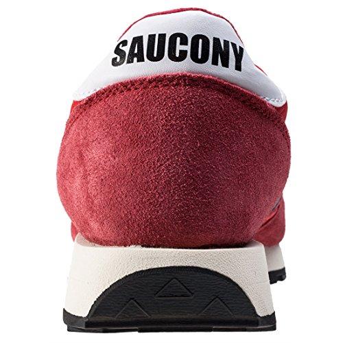 Saucony Jazz Original Vintage Hommes Baskets Rouge