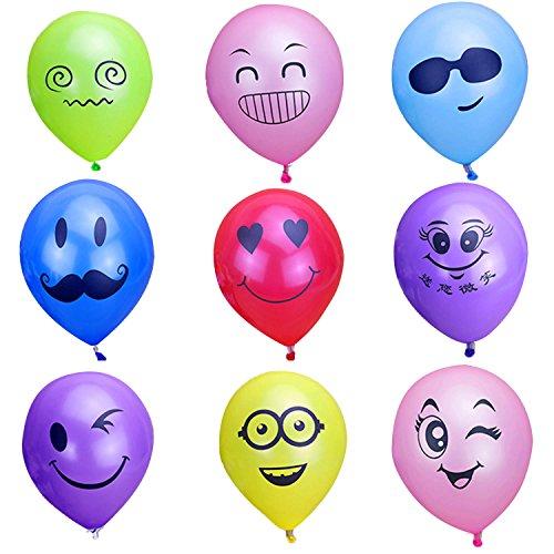 vococal-100-pz-10-pollici-colore-aerostato-partito-misto-latice-emoji-smiley-espressione-facciale-de