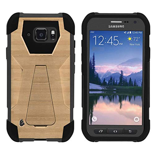 905a9c6dac0 TurtleArmor | Compatible Samsung Galaxy S6 Active Case | G890 [Dynamic  Shell] Hybrid Dual