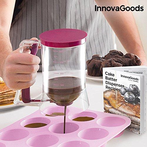 InnovaGoods IG811525 Backspender, mit Rezept, Transparent/Pink