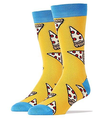 pizza-party-womens-crew-socks