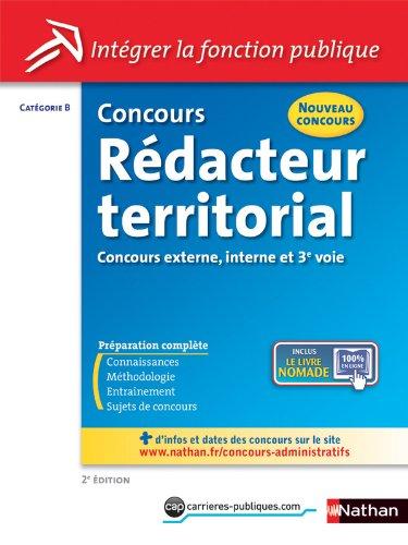 Concours Rédacteur territorial