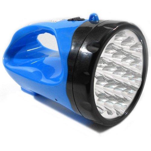 Torcia 19 led emergenza lampada luce ricaricabile portatile campeggio 440005
