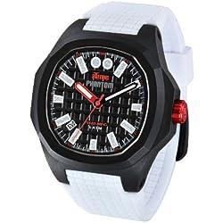 iTime Unisex-Armbanduhr PH4900-PHD1 Analog Silikon Weiß PH4900-PHD1