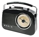 König HAV-TR710BL Radio Portable Noir - Radios Portables (Portable, AM,FM, 1,5 W, Noir, C, UM-2)