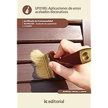 Aplicación de otros acabados decorativos. mamr0208 - acabado de carpintería y mueble