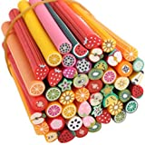 50pcs Mixed Styles caña de Fimo arcilla polimérica Nail Art Stickers (2#)