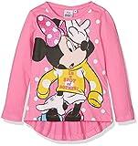 Disney Mädchen T-Shirt Minnie Mouse Love Mickey, Pink (Pink 15-2216TC), 7-8 Jahre
