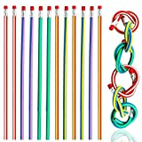TXY Lot de 20 crayons de couleur souples et flexibles, accessoire amusant pour enfants, écoliers