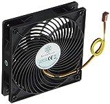 SilverStone SST-AP122 - Air Penetrator ventilateur de 120mm pour ordinateur, Bruit...