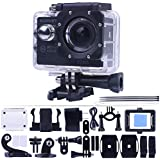 "Kuman SJ7000 action cam wifi Novatek 96655 Originale Versione 12MP 2.0""LCD Full HD 1080p FHD Sport Action Camera Impermeabile for Swimming Diving Bicycle Motorcycle Skiing, Aerial Photography MH23 …"