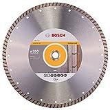 BOSCH Diamanttrennscheibe Standard für Universal Turbo, 350 x 20,00 und 25,40 x 3 x 10, 2608602587