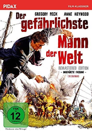 Der gefährlichste Mann der Welt - Remastered Edition (The Chairman) / Gefährliches China-Abenteuer mit Gregory Peck in ungekürzter Fassung (Pidax Film-Klassiker) - Männer China