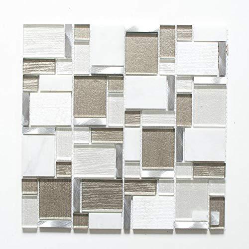 Mosaik Stein glänzend