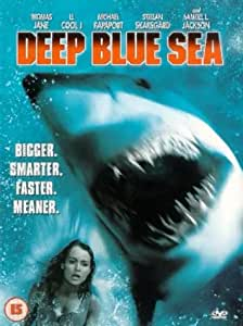 Deep Blue Sea 1999 Dvd Amazon Co Uk Thomas Jane