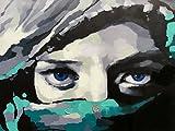 Cuadro Ojos azules. Impresión digital sobre