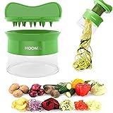 HOOMIL Coupe-Légumes Multifunction Râpe Légumes pour Légumes Pommes de Terre à Spaghetti Concombre Râpe Éplucheur Carottes Mandoline