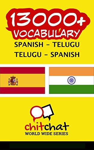 13000+ Spanish - Telugu Telugu - Spanish Vocabulary por Jerry Greer