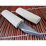 Mano derecha/japonés Kiridashi Cuchillo/Artesanía Navajas de bolsillo/mango de madera/Fabricado en Japón