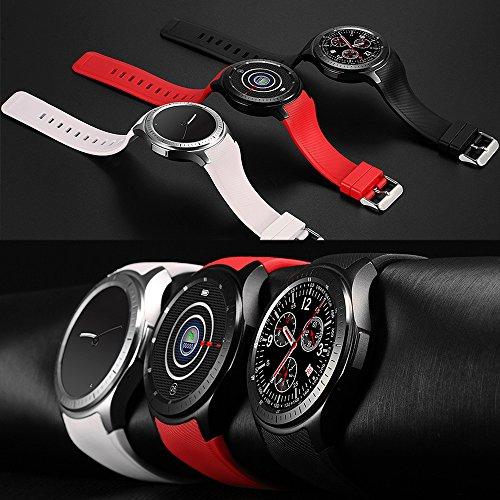 LEMFO Smart Watch Telefon BT Smartwatch Uhr Nano SIM Smartwatch Fr Android 50 IPhone IOS 90 WifiBT40GPSPedometer Herzfrequenz Fitness Tracker Armband