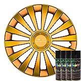 KandyDip® Sprühfolie Reptile Flip Pearl Flüssiggummi Felgenfolie Spraydosen Sets+2K, (2X Effekt, Satin)