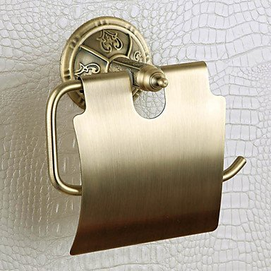 PIGE Toilettenpapier-Rack, Messing, Bronze venezianischen