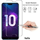 Helix for Huawei Honor 10 - Tempered Glass Screen Protector 0.3mm Premium Ultra Thin 9H Hardness 2.5D Round Edge for Huawei Honor 10