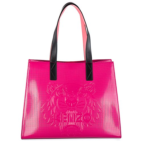 Kenzo Tiger sac de courses femme fucsia