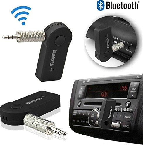ROYAL Attractive Car Bluetooth 3.5 mm jack Car Kit Best fit with your all Car Models & Compatible with Motorola Moto Z2 Play